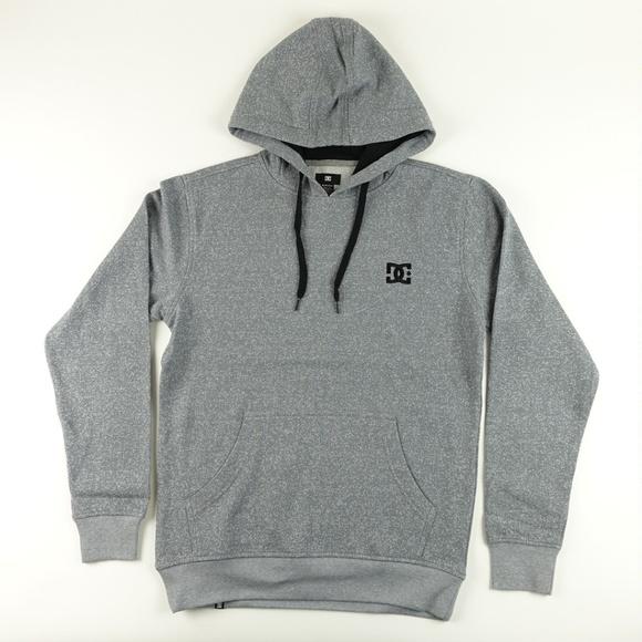95abb8ab87 DC Men's Rebel Simplistic Hoodie Sweatshirt A5216 NWT